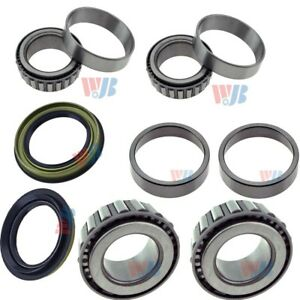 8pcs set Front Wheel Bearing race seal Assembly For Nissan Xterra Frontier 4wd