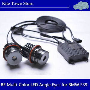 Rgb Multi color Error Free Cree Led Angel Eyes Halo Ring Bulbs For Bmw E39 E60