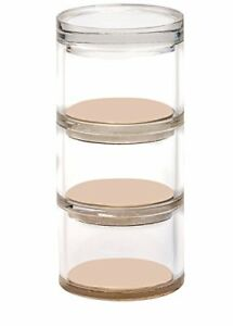 Acrylic amp Gold Desk Accessory Set 3 Tier Stackable Organizer That gold