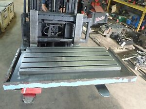 47 X 25 5 X 3 25 Steel Weld 5 T slot Table Cast Iron Layout Plate Fixture