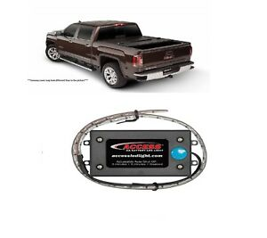 Undercover Flex 5 Bed Cover Access 18 Aa Battery Led Light For Gmc Canyon