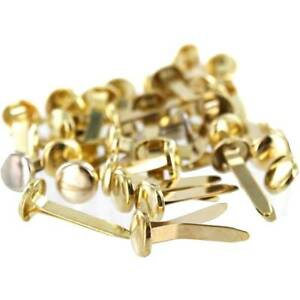 Paper Fasteners Brass Plated 13mm 20mm 25mm 30mm 40mm 50mm Split Pin 50 100 500