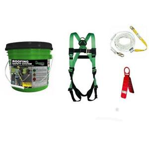 Roofing Safety System Werner New Fall Protection Solution Construction Harness