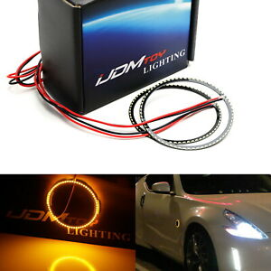 66 smd Amber Z4 Style Led Illuminating Rings For Nissan 350z 370z Side Markers