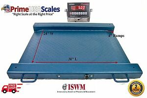 1 000 Lb X 0 2 Lb Optima Scale Op 917 Lightweight Portable Drum Scale 32