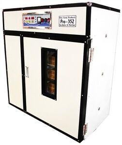 Rite Farm Products Pro 352 Cabinet Incubator Hatcher 352 Chicken Egg Capacity