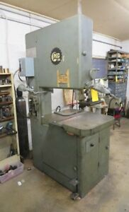 Grob 24 Vertical Bandsaw With Welder