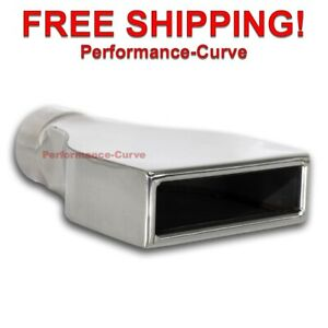 Stainless Steel Exhaust Tip Camaro 2 5 Inlet 6 X 2 25 Out