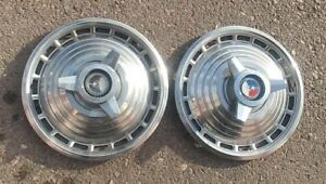 1963 Ford Galaxie Used 15 Inch Spinner Hub Caps