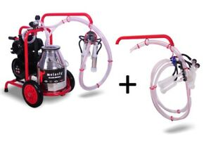 Electric Cow And Goat Milking Machine Complete Milking System By Melasty