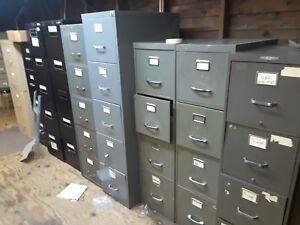 Used 4 Drawer And 5 Drawer File Cabinets