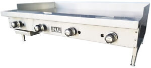 New 48 Commercial Flat Griddle Plate By Ideal Made In Usa Nsf Etl Approved
