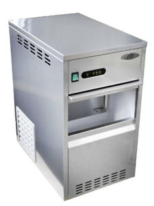 Sunpentown Spt 66 Lbs Flaked Shaved Ice Maker freezer Szb 20