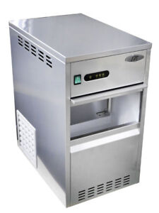 Sunpentown Spt 88 Lbs Flaked Shaved Ice Maker freezer Szb 40