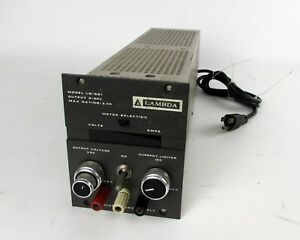 Lambda Lq 521 Regulated Dc Power Supply 3 3a 0 20v