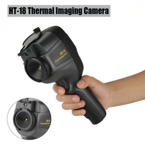 Ht 18 Hd Ir Thermal Imaging Camera Infrared Imaging Heat Sensor Built in Battery
