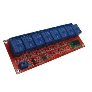 8 Ch12v Relay Board Module Bluetooth Mobile Phone Remote Control Arduino L149