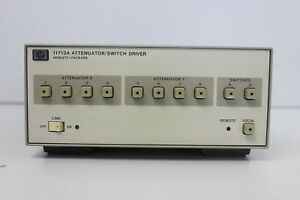 Hp Agilent Keysight 11713a Attenuator Switch Driver