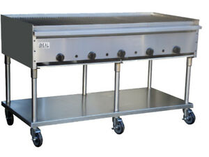 New 60 Commercial Radiant Broiler By Ideal Made In Usa Nsf Etl Approved