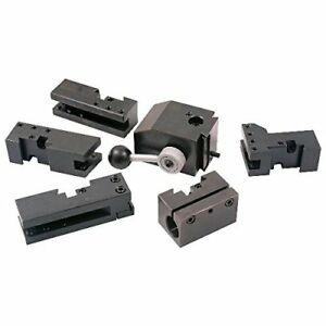 New Hhip 3900 5425 6 Piece Kdk Style 100 Quick Change Tool Post And Holder Set