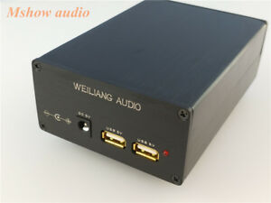 New Linear Power Supply With Usb Dc Output 5v For Hifi Audio Xmos Or Dac 15va