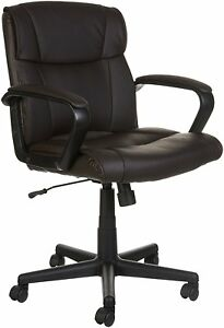 Amazonbasics Mid back Office Chair Brown