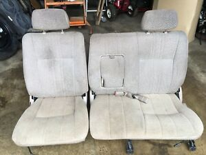 1997 Toyota T100 Front Bench Seats Tan Used