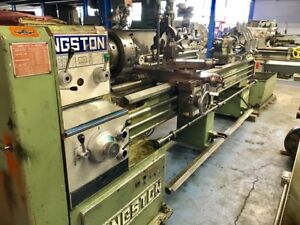 20 X 96 Cc Kingston Engine Lathe 1980 Inch metric Taper