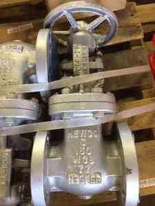 Newco 03 11f cb2 Flanged Gate Valve 3 Pipe Size 800 Class 150 New h