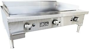 New 36 Snack Line Flat Griddle Plate By Ideal Made In Usa Nsf Etl Approved