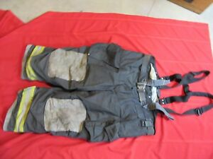 2010 Globe Ih Firefighter Bunker Turnout Pants 50 X 28 Thermal Liner Costume