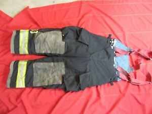 Globe Gx 7 Firefighter Bunker Turnout Pants 36 X 28 Thermal Liner Costume