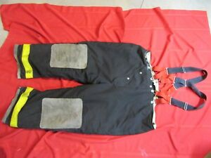 Globe Firefighter Bunker Turnout Pants 54 X 30 Thermal Liner Halloween Costume