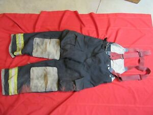 Globe Gx 7 Firefighter Bunker Turnout Pants 36 X 32 Thermal Liner Costume