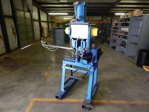 National Milford Double Rivet Machine Distance Between Units 3 See Listing