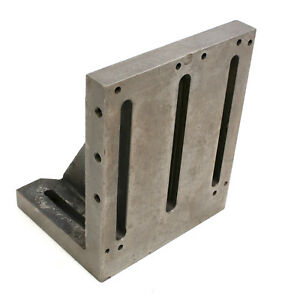 12 X 10 X 8 Ground Slotted Right Angle Plate
