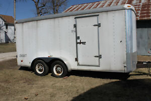 16 X 7 Haulmark Trailer With Tools Shelves cabinets