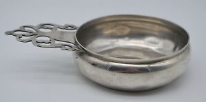 Vintage Tiffany Co Sterling Silver Porringer Bowl Paul Revere Repro