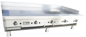 New 60 Commercial Thermostat Griddle Plate By Ideal Made In Usa Nsf Etl