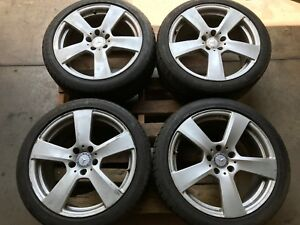 Used Oem Mercedes Benz Wheels Tires Rims 18x8 8 5 Inch E350 E400 E550 W212