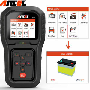 Ancel Ad510 Obdii Auto Scanner Code Reader Engine Battery Check Diagnostic Tool