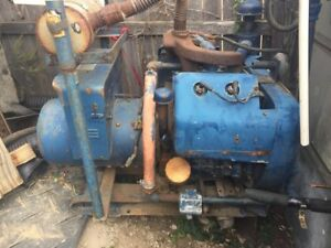 Wisconsin Vh4d Engine Natural Gas Engine With Winco 12 500 Watt Generator End