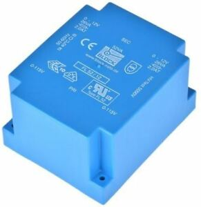 12v Ac 2 Output Through Hole Pcb Transformer 52va