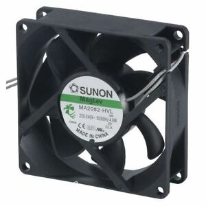Sunon Ma 2082hvl gn Maglev Axial Fan 230v Ac 80 X 80 X 25mm