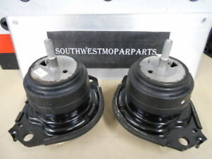 2 2011 18 Jeep Grand Cherokee 5 7l Engine Motor Mounts Oem 68252522aa