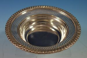 Empire Sterling Silver Candy Dish With Gadroon Style Border 2744