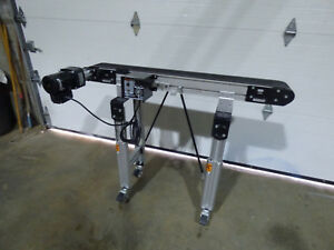 Dorner Conveyor 48 X 6 Variable Slow Speed Portable 110 Volt
