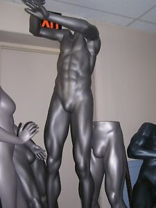 Mannequin Male Form Retail Display Full Body Basketball Player Pick Up pa 17065
