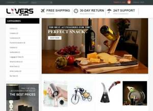 Full Ready Automated Drop Shipping Website With More Than 50 000 Products