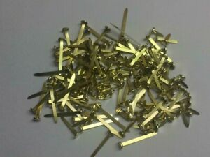 40mm Quality Brass gold Paper Fasteners Split Pins Butterfly Clip